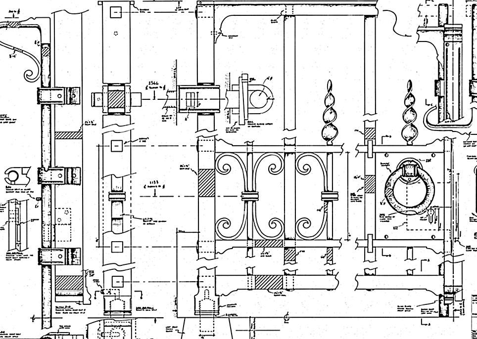 Our detailed drawings ensure the best quality result