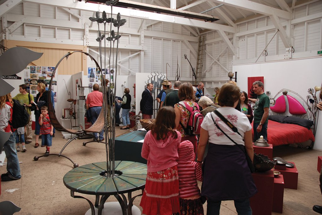 Bethan Griffiths curated the British Artist Blacksmiths Association exhibition in 2007