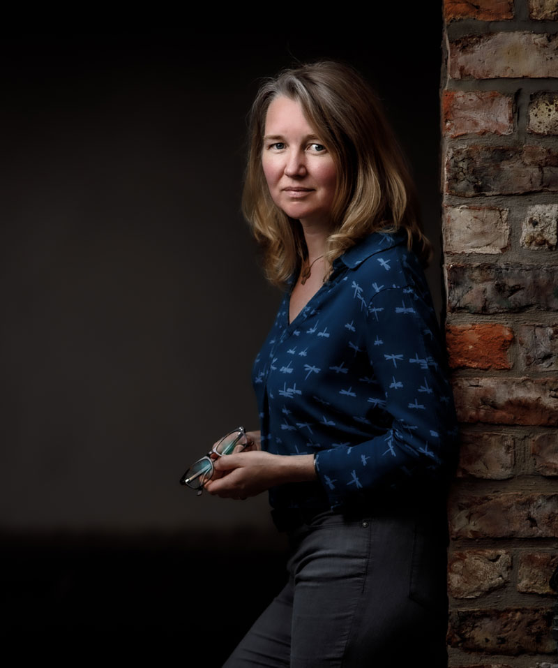 Bethan Griffiths of The Ironwork Studio - blacksmith, architectural metalwork expert and designer